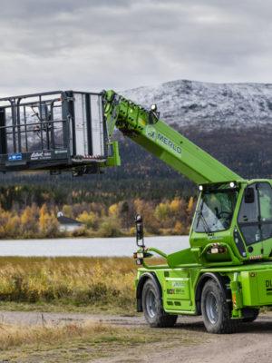 De är pionjärer med teleskoplastare i gruvbranschen, Lefa Last AB och K-E Karlssons Åkeri AB i Gällivare. Efter många års erfarenhet konstaterar båda att det går riktigt bra!