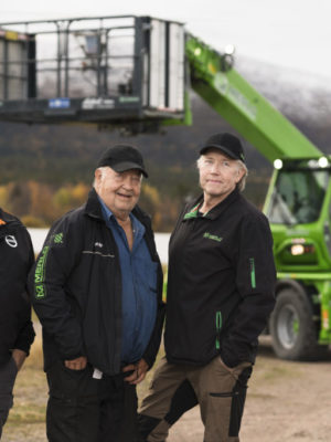 Conny Byström, Karl-Erik Karlsson och Janne Karlsson.